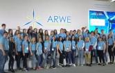 Команда волонтёров Ульяновского филиала РАНХиГС на международном форуме ARWE-2019